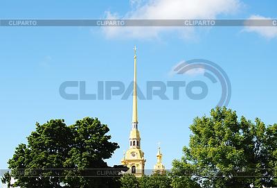Turmspitze der Peter-und-Paul-Festung | Foto mit hoher Auflösung |ID 3029120