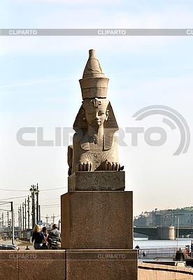 Sphinx in St. Petersburg   Foto mit hoher Auflösung  ID 3031795