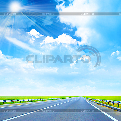 Road and sunny sky | High resolution stock photo |ID 3029128