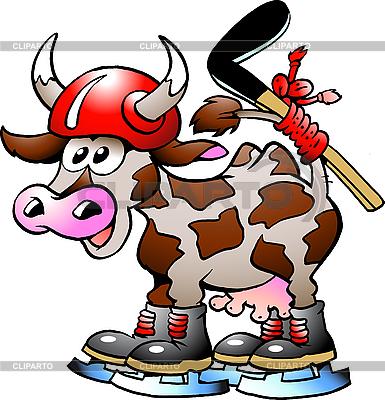 Cow hokeju Sport | Klipart wektorowy |ID 3031650