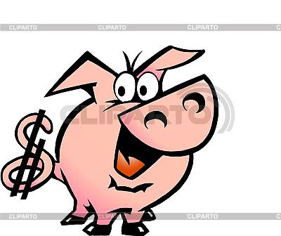 Dollar Pig   Stock Vector Graphics  ID 3031731
