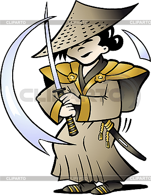 Japanischer Samurai | Stock Vektorgrafik |ID 3031767