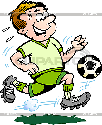 Soccer Player | Stock Vector Graphics |ID 3104588