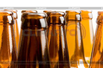 Close-up of beer bottles, focus on middle one | High resolution stock photo |ID 3284409