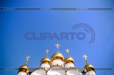 Goldene Kuppeln der Kirche | Foto mit hoher Auflösung |ID 3284435