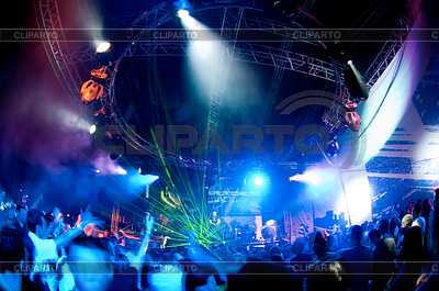 People relaxing at concert | High resolution stock photo |ID 3284542