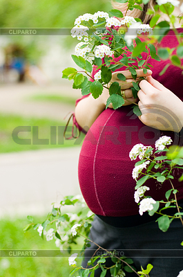 Anonymous pregnant woman | High resolution stock photo |ID 3284693