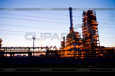 Industrial oil works | High resolution stock photo |ID 3284758