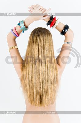 女孩在手表和手镯   高分辨率照片  ID 3288367