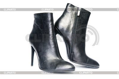 Black female boots | High resolution stock photo |ID 3306778