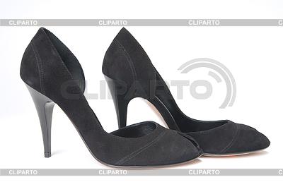 黑色女皮鞋 | 高分辨率照片 |ID 3308408