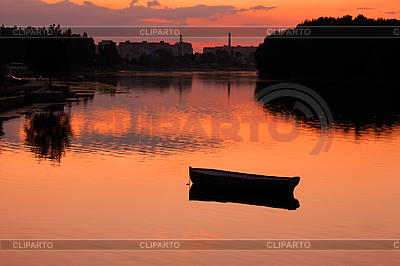 Lake after sunset | High resolution stock photo |ID 3037843