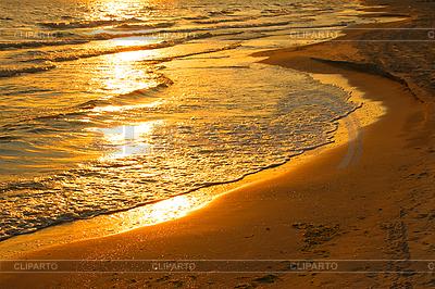 Agua llamarada del sol poniente | Foto de alta resolución |ID 3038786