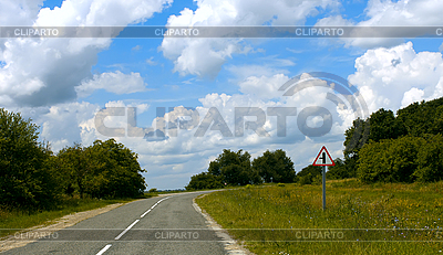 Rural paved road | High resolution stock photo |ID 3064959
