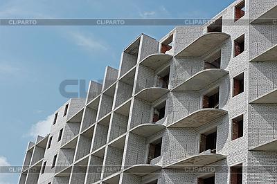 Здание в ходе строительства | Фото большого размера |ID 3066807