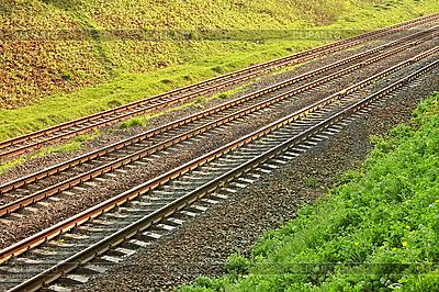 Rail lines   High resolution stock photo  ID 3139821