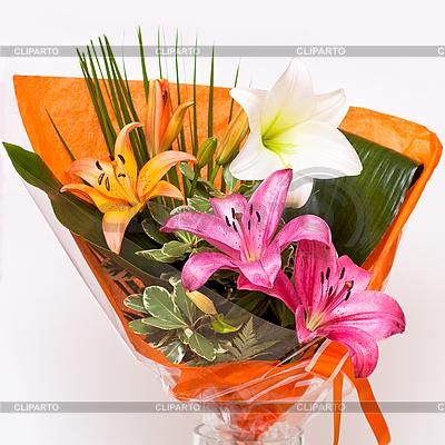 Bukiet z lilii | Foto stockowe wysokiej rozdzielczości |ID 3039337