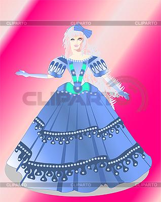 Dziewczyna bow | Klipart wektorowy |ID 3051330