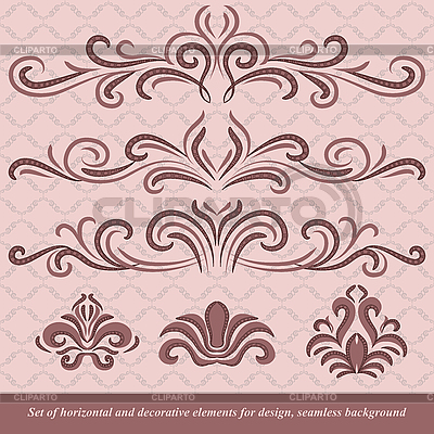 Horizontale Ornamente | Stock Vektorgrafik |ID 3064247