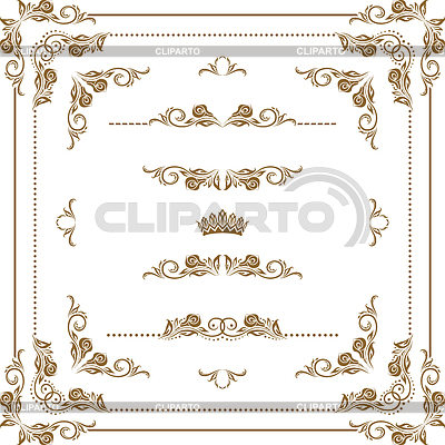 Decorative frame | Stock Vector Graphics |ID 3284020