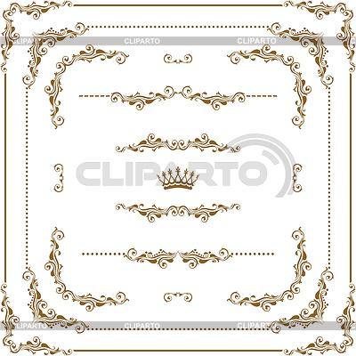 Dekoracyjne ramki | Klipart wektorowy |ID 3291854