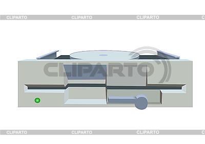 Altes Diskettenlaufwerk | Stock Vektorgrafik |ID 3051580