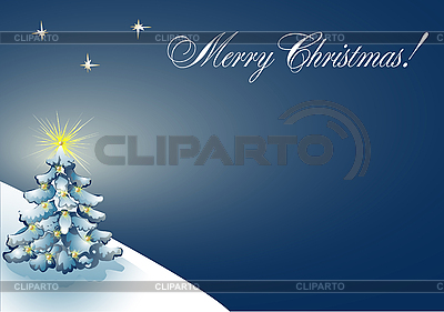 Weihnachtskarte | Stock Vektorgrafik |ID 3054565