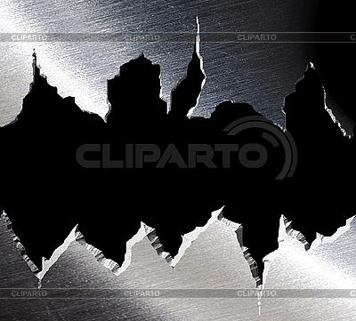 Torn metal texture   High resolution stock illustration  ID 3044677
