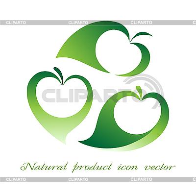 Symbole für Naturprodukt | Stock Vektorgrafik |ID 3039856
