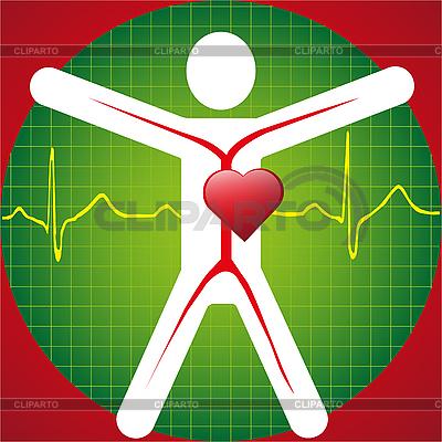 Medical Symbol - ECG | Klipart wektorowy |ID 3056324