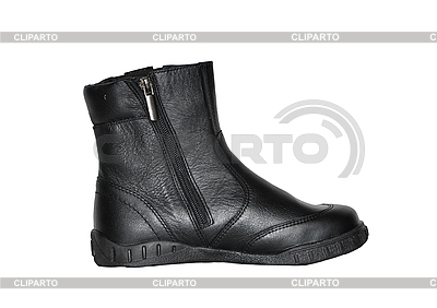 Black boot | High resolution stock photo |ID 3066138