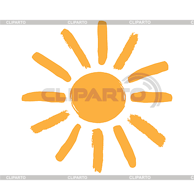 Sun symbol | Klipart wektorowy |ID 3090714