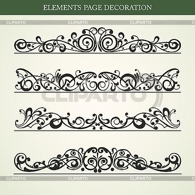 Dekorative Design-Elemente | Stock Vektorgrafik |ID 3178847