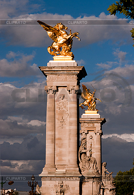 Kolumny Aleksandra III | Foto stockowe wysokiej rozdzielczości |ID 3039717
