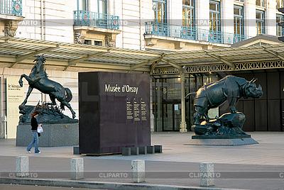 Statuen in der Nähe des Museums dOrsay | Foto mit hoher Auflösung |ID 3039718
