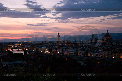 Evening in Florence | High resolution stock photo |ID 3039800