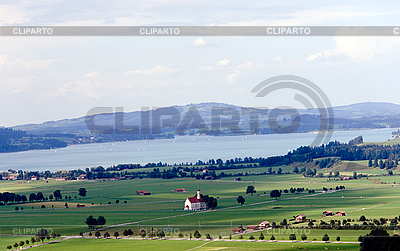Bavarian landscape | High resolution stock photo |ID 3039808