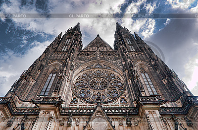 St. Vitus Cathedral | High resolution stock photo |ID 3040342