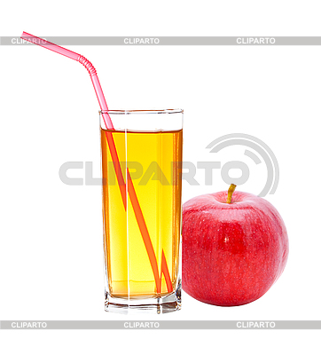 Red apple with juice | Foto stockowe wysokiej rozdzielczości |ID 3040510