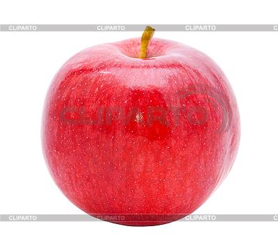 Dojrzałe czerwone jabłko | Foto stockowe wysokiej rozdzielczości |ID 3058185