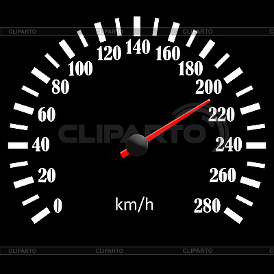 Black speedometer   High resolution stock illustration  ID 3058199