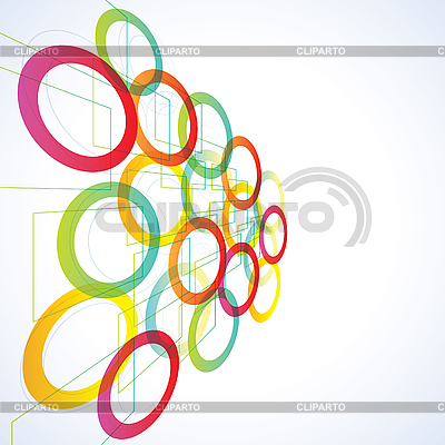Abstract futuristic background | Stock Vector Graphics |ID 3050370