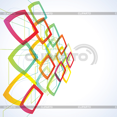Abstract futuristic background | Stock Vector Graphics |ID 3050374