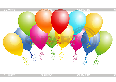 Colorful balloons | Stock Vector Graphics |ID 3050485