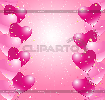 Card with hearts | Stock Vector Graphics |ID 3050495