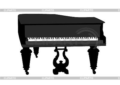 三角钢琴 | 向量插图 |ID 3050830