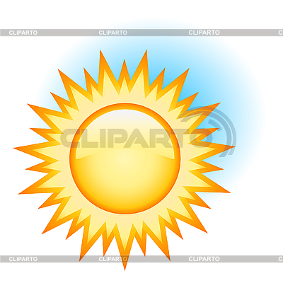 Yellow sun | Stock Vector Graphics |ID 3051148