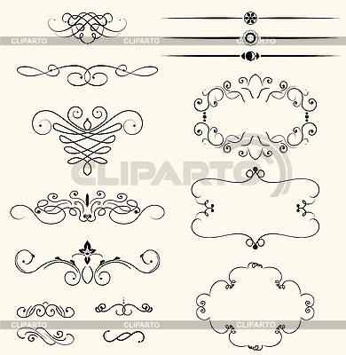 Decorative vignettes | Stock Vector Graphics |ID 3051152