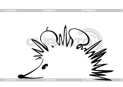 Hedgehog outline | Foto stockowe wysokiej rozdzielczości |ID 3073137