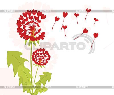 Mlecze z nasion miłości | Klipart wektorowy |ID 3073274